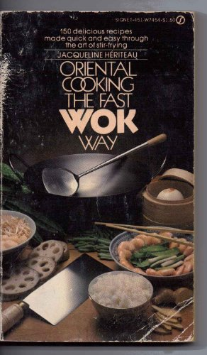 9780451091369: Oriental Cooking the Fast Wok Way