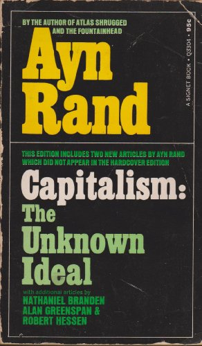 9780451092274: Capitalism: The Unknown Ideal
