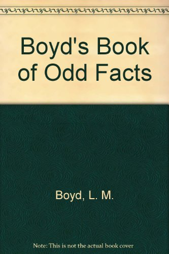 9780451094155: Boyd's Book of Odd Facts