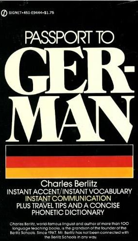 Passport to German: Berlitz, Charles