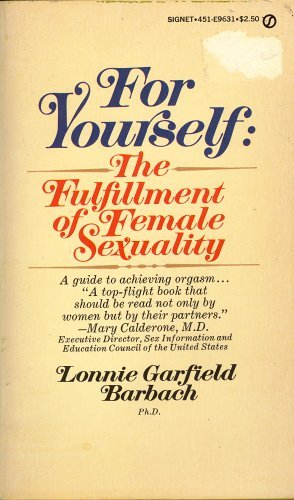 9780451096319: For Yourself: The Fulfillment of Female Sexuality