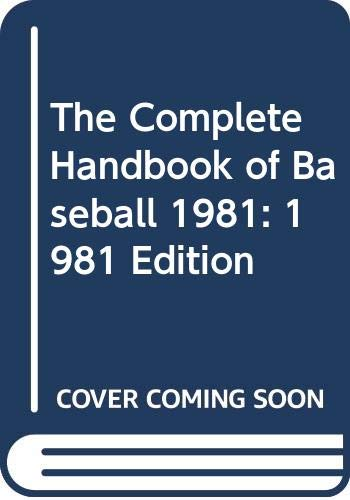 9780451096821: The Complete Handbook of Baseball 1981: 1981 Edition