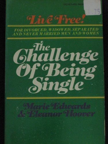 9780451099037: The Challenge of Being Single