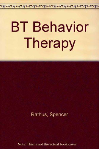 9780451099495: BT Behavior Therapy
