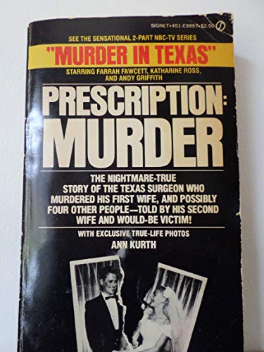 9780451099976: Prescription Murder