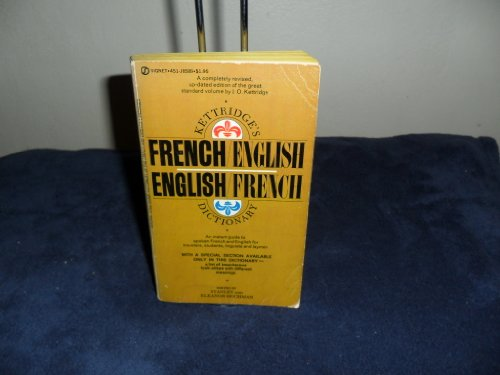 9780451110381: French/English, English/French Dictionary, Kettridge's