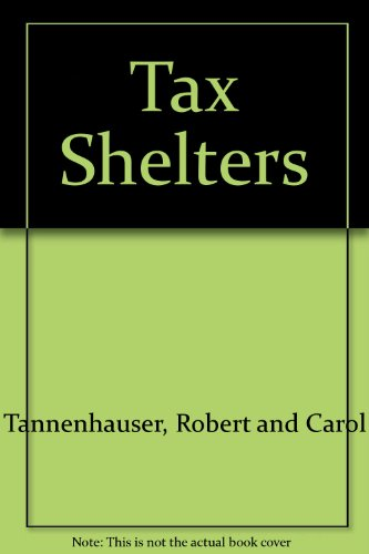 9780451110466: Tax Shelters