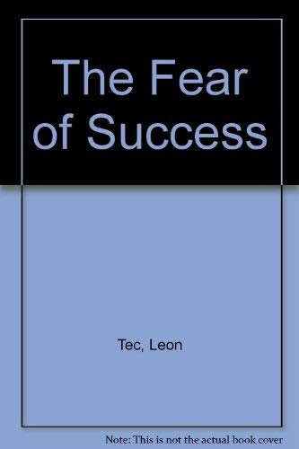 9780451112781: The Fear of Success