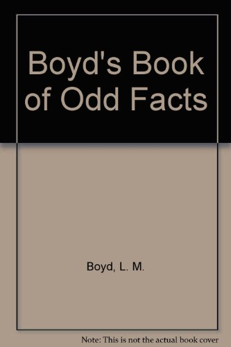 9780451112910: Boyd's Book of Odd Facts