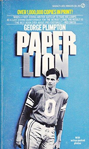 9780451112965: Paper Lion