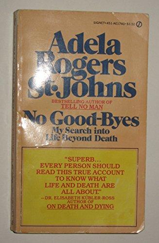 9780451117403: No Goodbyes