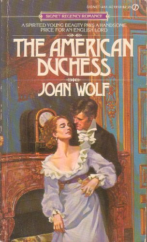 9780451119186: The American Duchess (Signet)