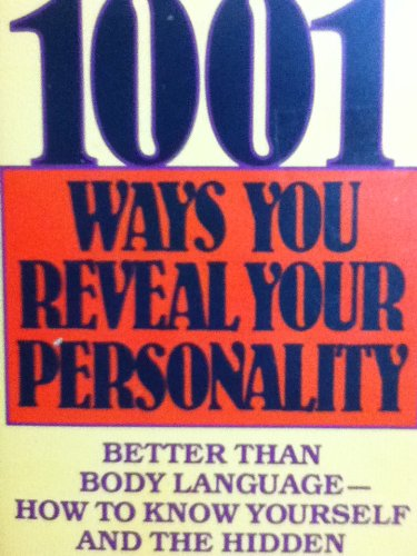 9780451120120: 1001 Ways You Reveal Your Personality