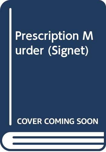 9780451120267: Prescription Murder (Signet)