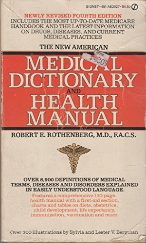 9780451120274: Medical Dictionary and Health Manual, The New American (Signet)