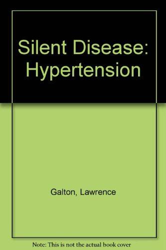 9780451120984: Silent Disease: Hypertension