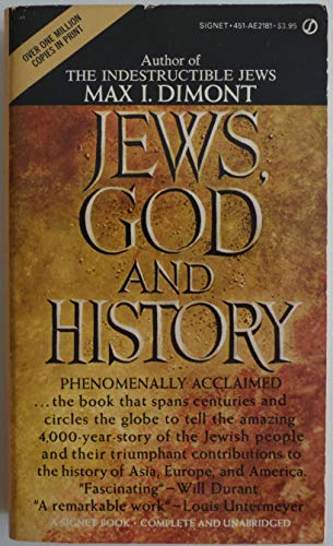 9780451121813: Jews, God, and History
