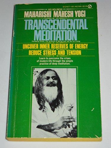 9780451121844: Transcendental Meditation