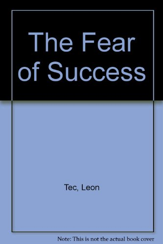 9780451123114: The Fear of Success