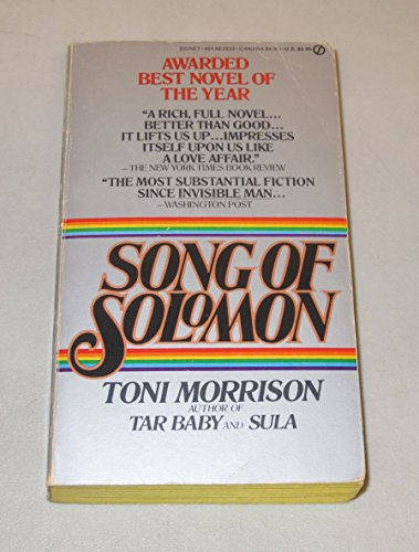 9780451123152: Song of Solomon