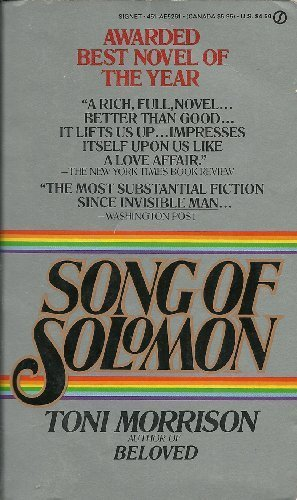 9780451123152: Song of Solomon