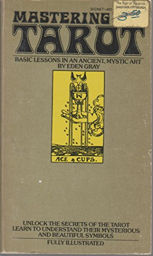 9780451123206: Mastering The Tarot: Lessons in an Ancient Mystic Art