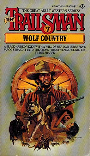 9780451123695: Wolf Country: The Trailsman #07