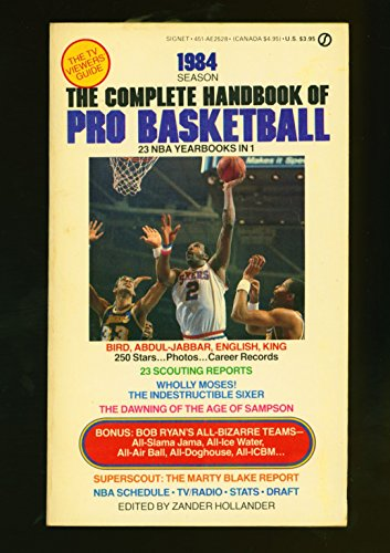 9780451125286: The Complete Handbook of Pro Basketball 1984: 1984 Edition