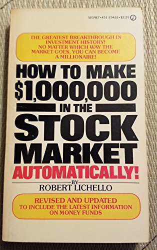 9780451126610: How to Make 1,000,000 Dollars in the Stock Market Automatically (Revised and Updated)