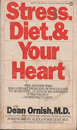 9780451127556: Ornish Dean : Stress, Diet and Your Heart (Signet)