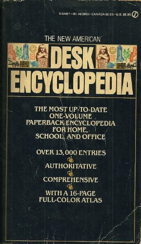Desk Encyclopedia, The New American: First Edition (Signet Books): Concord Reference