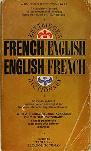 9780451128072: French/English, English/French Dictionary, Kettridge's (Signet)