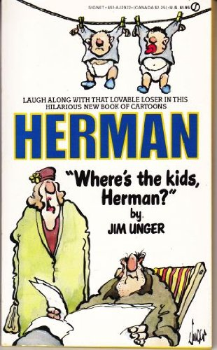Where's the Kids Herman (Signet) (9780451129222) by Jim Unger