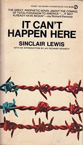 9780451130426: Lewis Sinclair : it Can'T Happen Here