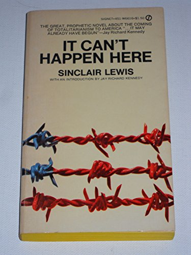 It Can't Happen Here (Signet): Lewis, Sinclair