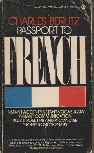 9780451130945: Passport to French (Signet)