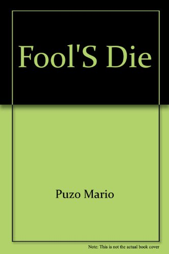 9780451131492: Fools Die
