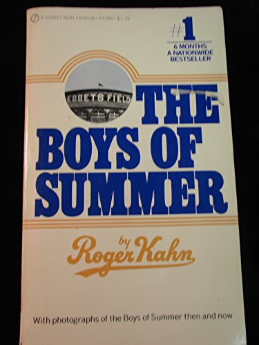 9780451134332: The Boys of Summer (Signet)
