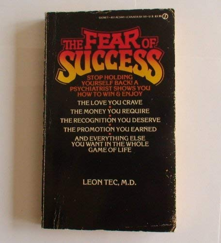 9780451134417: The Fear of Success