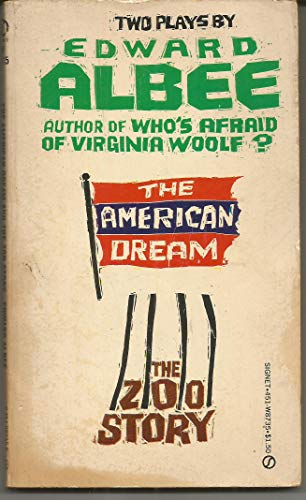 9780451134615: Albee Edward : American Dream & the Zoo Story (Signet)