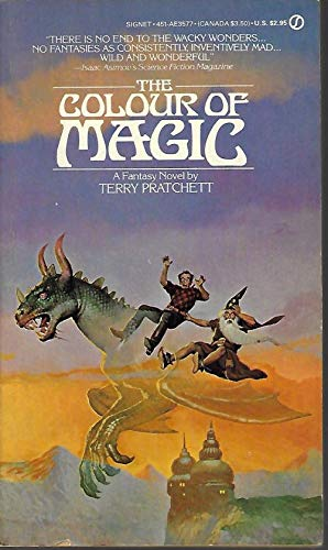 the colour of magic pratchett terry - The Color Of Magic Book
