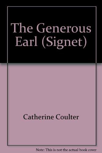 9780451136183: The Generous Earl (Signet)
