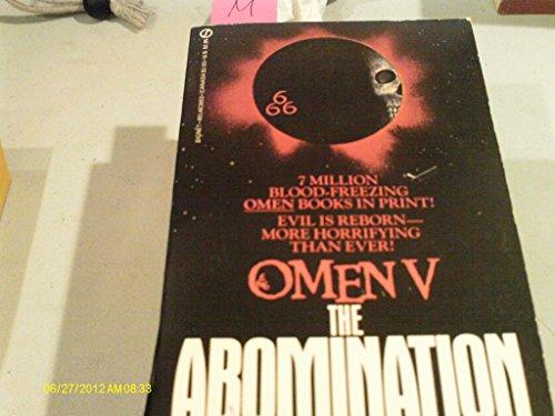 9780451136534: Abomination: Omen V
