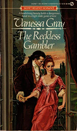 The Reckless Gambler (0451137647) by Vanessa Gray