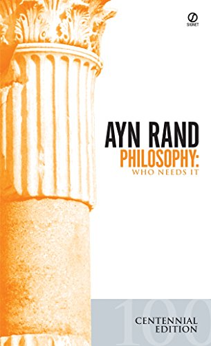 9780451138934: Philosophy: Who Needs IT? (Ayn Rand Library)