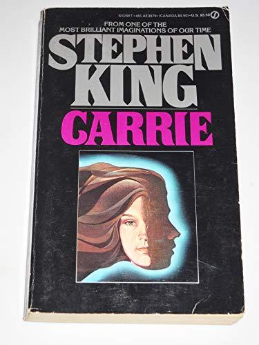 9780451139795: Kings Stephen : Carrie