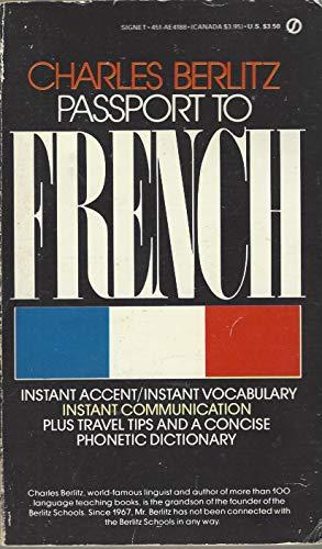 9780451141880: Passport to French (Signet)