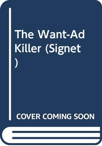 9780451142030: The Want-Ad Killer