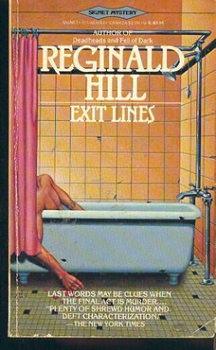 9780451142528: Hill Reginald : Exit Lines (Signet)