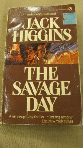 9780451142542: The Savage Day